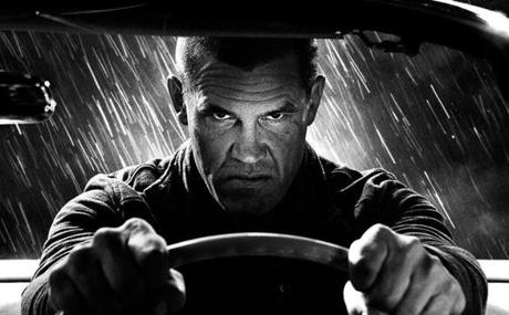 Josh Brolin in the 2014 film SIN CITY: A DAME TO KILL FOR, directed by Frank Miller and Robert Rodriguez. 17sincity